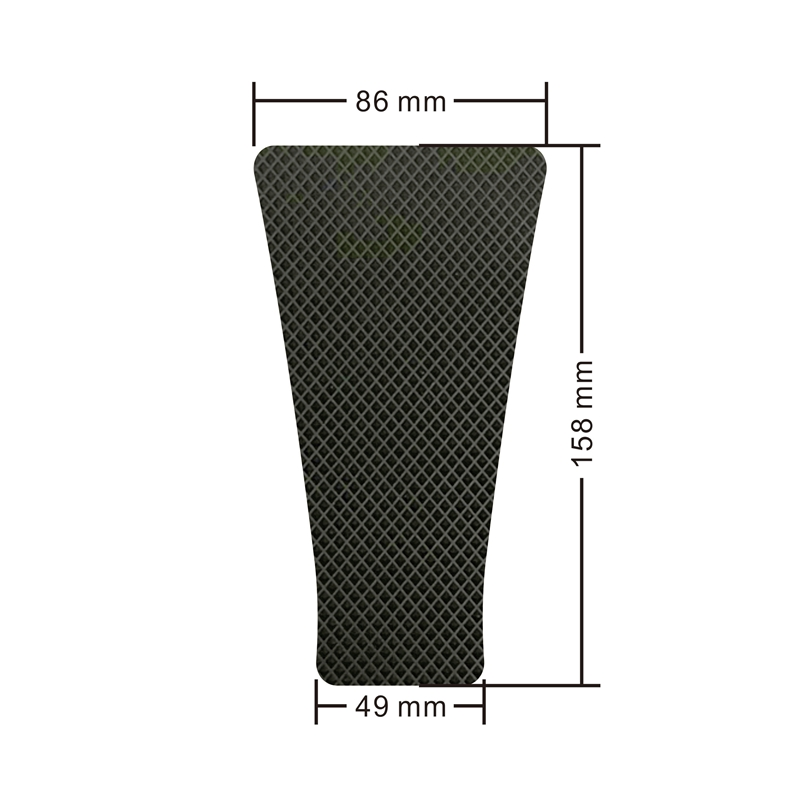 Gas Tank Pad Traction Side Grips Protector 3M Adhesive For Honda CBR600RR F5 2003 2004 2005 2006 in Decals Stickers from Automobiles Motorcycles
