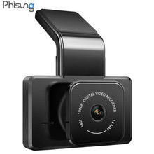 Phisung K10 1080P HD Dash Cam WIFI Auto Camera Auto DVR Nachtzicht Ondersteuning 24H Parking Monitor Achteruitkijkspiegel camera Dash Cam(China)