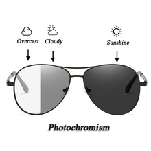Men Polarized Photochromism Sunglasses UV400 Protection Fishing Cycling Driving