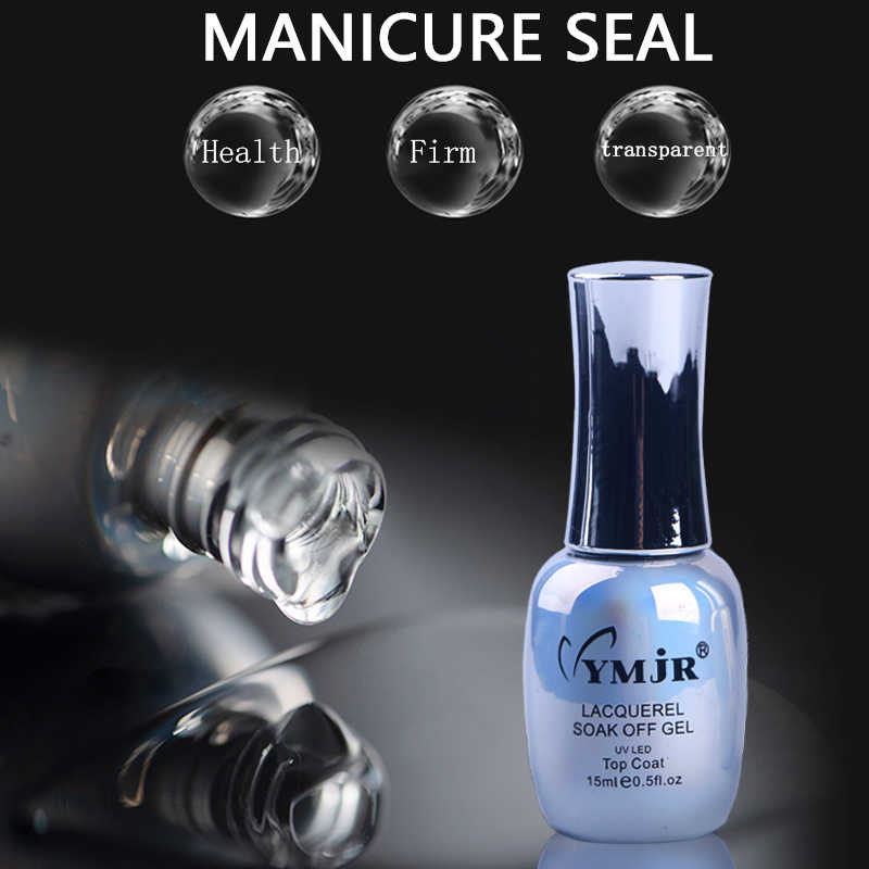 Nowipe Top Jas Ymjr 15 Ml Nail Tops Gel Uv Lak Sealer Led Nail Gel Polish Diamant Top Jas Heldere olie