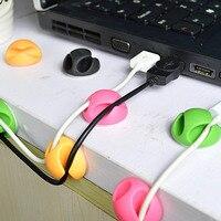 USB Kabel Stecker Kabel Wickler Veranstalter Draht Kabel Fixer Clip Daten linie Ordentlich Sammlung Werkzeuge Kabel Winder Halter