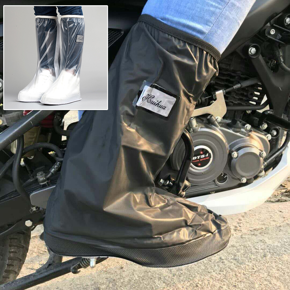 Waterproof Reusable Cover Anti-slip Boot Overshoes Protector Outdoor For Shoes Motorcycle Cycling Bike Rain Boot Rain Cover