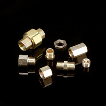 1/8 ''Brass Pipe Fitting BSP,Male / Female Thread, Hex Adapter, 3 Way Joint , For Water, Fuel And Gas Connector