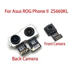 Nowy dla ASUS telefon rog II ZS660KL 2019 powrót moduł tylnej kamery Flex Cable + wymiana kamery z przodem do świata
