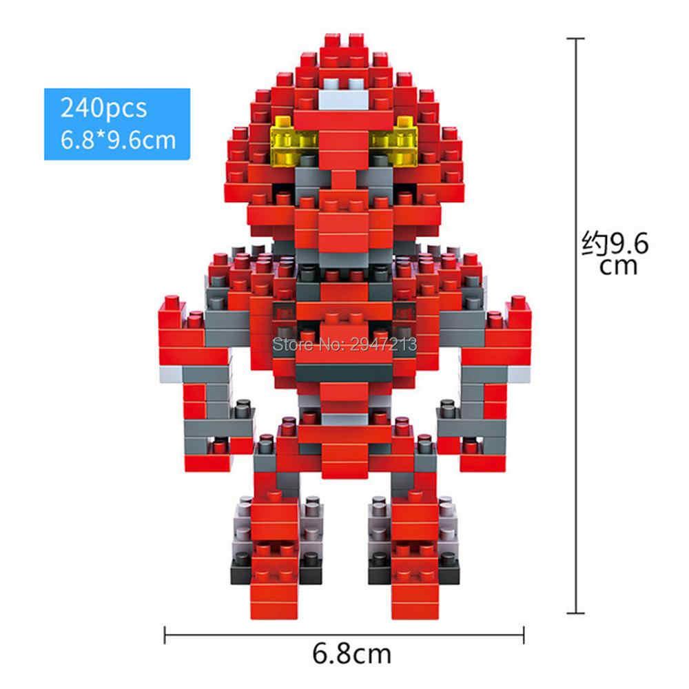 Heißer Lepining creators klassische super Roboter krieg Bumble bee Transformation Megatron modell mini micro diamant Block ziegel spielzeug geschenk