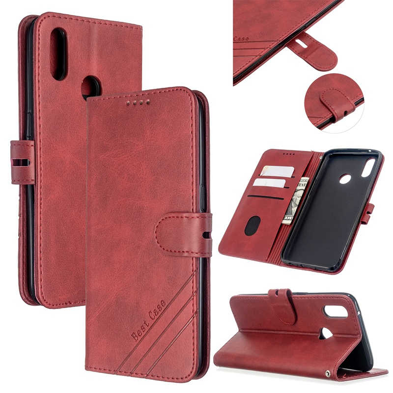 Cubierta del teléfono para Xiaomi mi 9 Lite A1 A2 A3 5X6X9 T rojo mi nota 5 5A Plus 6 7 8 7A 8A 8T Pro K20 G0 CC9 CC9E 10 cuero caso Coque