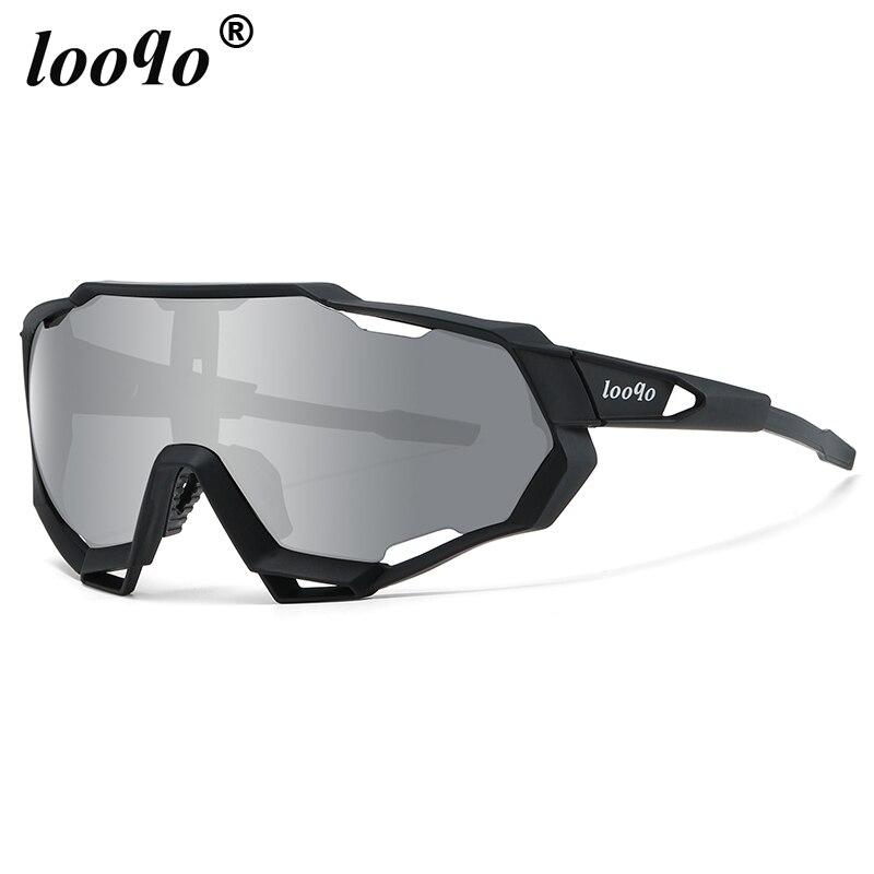 looqo Brand New Outdoor Cycling Sunglasses Mtb Bike Bicycle Glasses Men Women Sport UV400 Eyewear Peter Sagan Driving Goggles