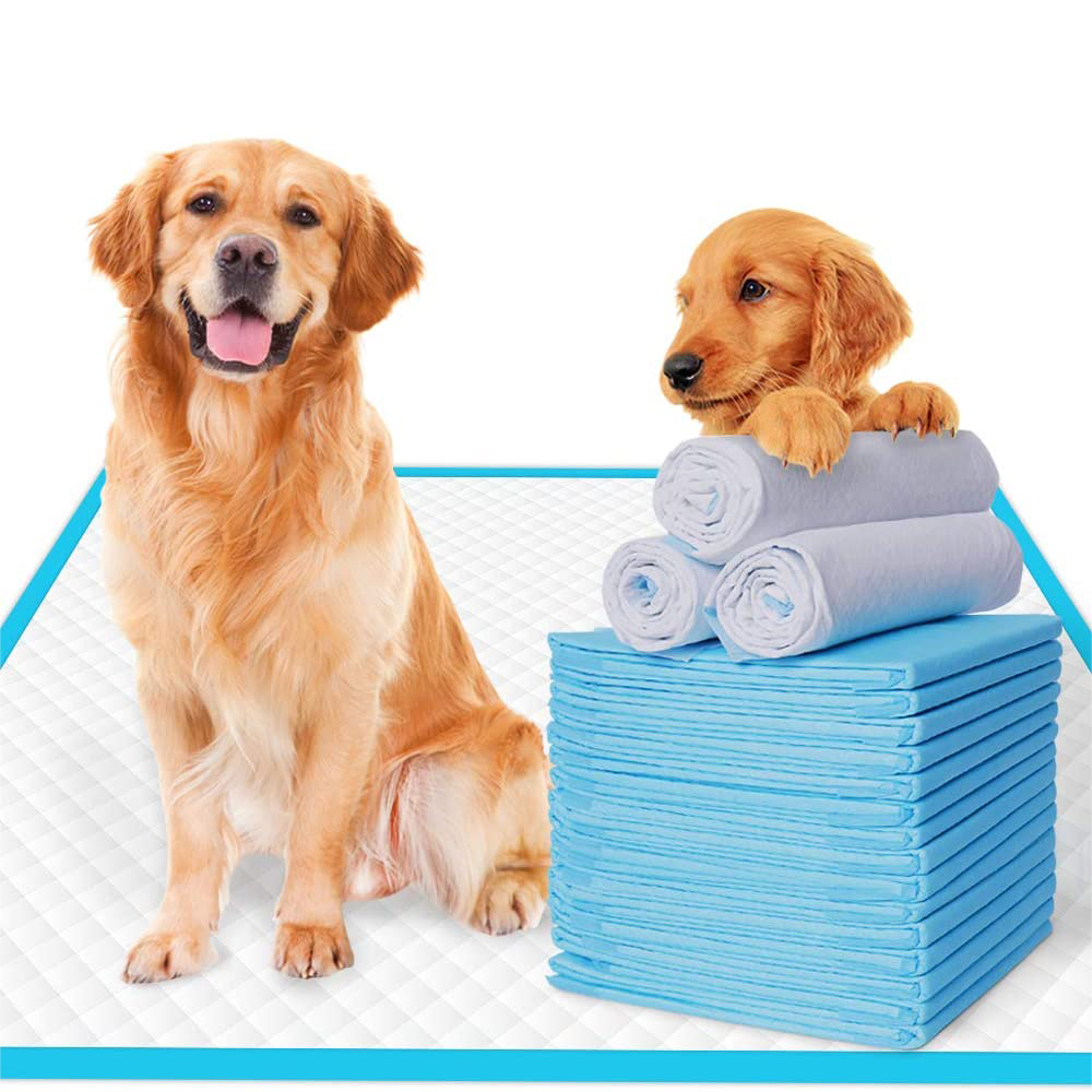 Dog Pee Pads Puppy Potty Training Pet Pads Super Absorbent Quick Drying No Leaking Pee Pads for Dogs Cats Pets Disposable