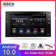 8 android android 10.0 ram 4g rom 64g carro dvd gps navegação rádio player de vídeo estéreo universal 1 din rádio carro multimídia jogador gps