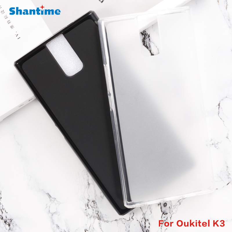 For <font><b>Oukitel</b></font> <font><b>K3</b></font> Gel Pudding Silicone Phone Protective Back Shell For <font><b>Oukitel</b></font> <font><b>K3</b></font> Soft TPU <font><b>Case</b></font> image