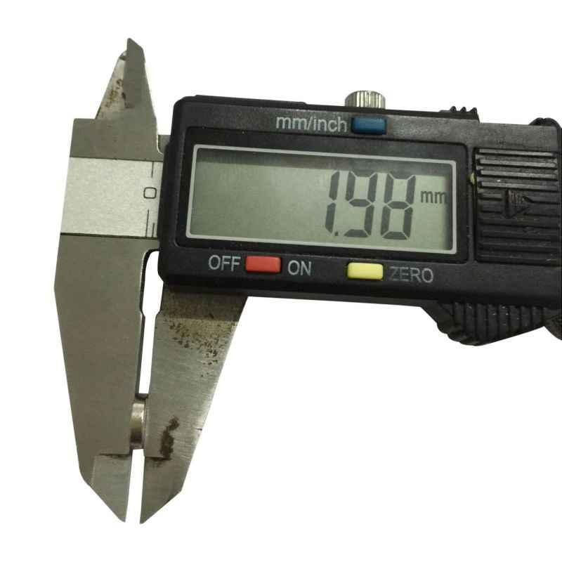 10pcs Disco Mini 8x2mm N50 Rare Earth Forte Ímã De Neodímio Massa Ímãs Super N50