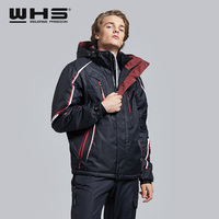 WHS hot sale Ski Jackets men windproof warm coat male waterproof snowboard jacket teenagers Outdoor sport clothing winter