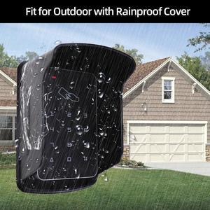 Image 4 - Standalone Access Controller RFID Access Control Keypad Waterproof Rainproof Cover digital panel Card Reader Door Lock System
