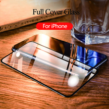 9D Tempered Glass For iPhone XR XS Max 7 8 Screen Protector On X 6 6s Plus Protective Film Full Cover