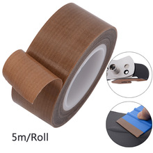 FOSHIO 5M PTFE Felt Tape Cloth For Carbon Fiber Vinyl Squeegee Wrapping Car Plastic Scraper Protector Window Tint Cleaning Tool