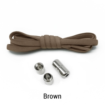 Ελαστικά Κορδόνια Παπουτσιών χωρίς Δέσιμο Ελαστικά Κορδόνια για Παπούτσια χωρίς Δέσιμο Τεμπέλικα Κορδόνια Παπουτσιών (1 ζευγάρι)