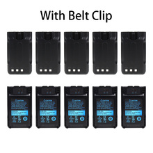10X Replacement Battery KNB-63L KNB-65L for Kenwood TH-K20 TH-K20A TH-K20E Two-Way Radio