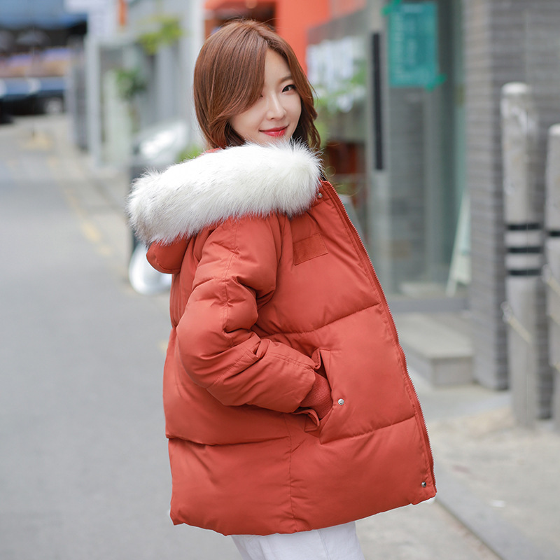 Hot sale Down   parka   winter 2019 edition hooded winter new small padded jacket easing down padded jacket