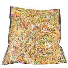 Цветной пенопласт шары мини пена шары декоративные мяч поделки поделки принадлежности обучающие игрушки развивающие дети% 27 поделки умения