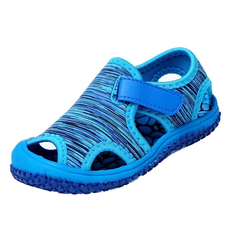 Summer Baby Girl Sandals Boys Children Beach Sandals Soft Bottom Non-Slip Infant Shoes Kids Outdoor Sport Shoes SCL001