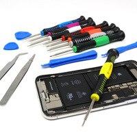 Juego de destornilladores multifunción, herramientas de desmontaje 16 en 1, para mantenimiento de reloj electrónico, destornillador combinado