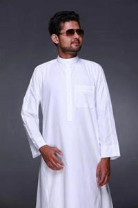 Image 2 - Abbigliamento Islamico Lunghezza Uomini a Maniche Lunghe Sciolto Uomini Musulmani Arabia Saudita Pakistan Kurta Musulmano Costumi Musulmano Abito Caftano Thobe