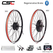 eBIKE Conversion Kit 20-29 inch 700C Electric Bicycle Conversion Kit 48V 1000W 1500W 36V 250W 500W Front Rear Hub Motor Wheel(China)