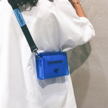 2019 New Transparent Jelly Bag Women Korean Style Shoulder Bag Fashion Messenger Bag Small Bag недорого