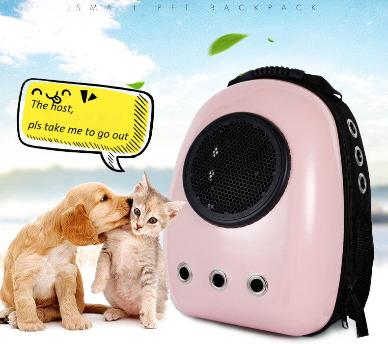 High quality window transport carrying breathable travel bag bubble astronaut pet dog space capsule cat carrier