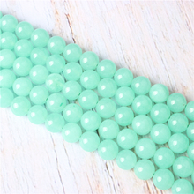 Blue Australian Jade Natural Stone Beads For Jewelry Making Diy Bracelet Necklace 4/6/8/10/12 mm Wholesale Strand
