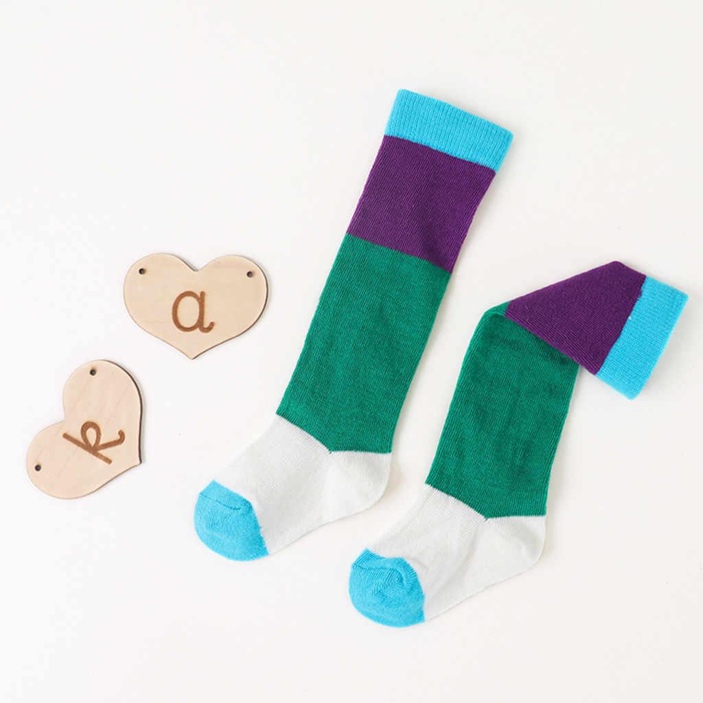 เด็กวัยหัดเดินทารกน่ารัก Pantyhose เด็กทารกผ้าฝ้ายน่ารัก Anti-SLIP ถุงเท้าเด็กแรกเกิด Panty-hose เข่ายาวถุงเท้า # LR1
