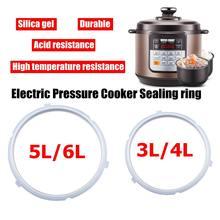 Уплотнительное кольцо 3/4/5/6L силиконовый Давление уплотнение Плита Кухня& Amp; Обеденный Инструмент электрический чайник для сада
