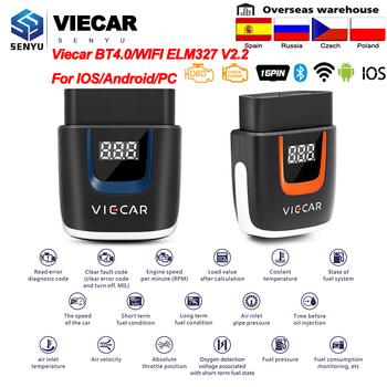 OBD2 WIFI Bluetooth 4 0 Viecar ELM327 V2 2 PIC18F25K80 skaner USB ELM 327 OBD 2 OBD2 diagnostyka samochodowa Auto narzędzie dla androida IOS tanie i dobre opinie CN (pochodzenie) Latest version Węgierski Norweski Turkish Denish Słowenia Arabski POLISH Grecki english Tajski Spanish
