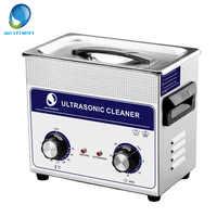 Skymen 3.2L limpiador ultrasónico tirador de baño Control temporizador partes metálicas circuito PCB tablero cesta máquina de limpieza ultrasónica