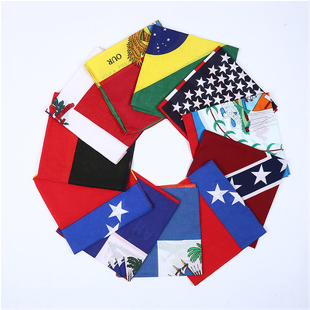 The Magic Seamless National Flag Turban Multi-function Turban, The Magic Ever-changing Scarf Outdoor Scarf JQ100