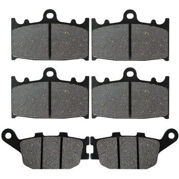 Motorcycle Front and Rear Brake Pads for SUZUKI GSF 650 Bandit Non ABS 2007-2011 GSF650 Bandit ABS 2007 2008 2009 image
