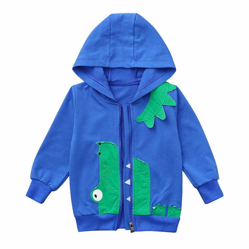 50% rebajado zapatos deportivos bienes de conveniencia 90-130cm Cute dinosaurio primavera niños abrigo otoño chaqueta niños  abrigos ropa de abrigo niño activo rompevientos ropa de bebé ropa