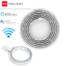 Yeelight RGB LED WiFi חכם Lightstrip בתוספת עובד עם Alexa גוגל עוזר הבית חכם בית APP אינטליגנטי סצנות