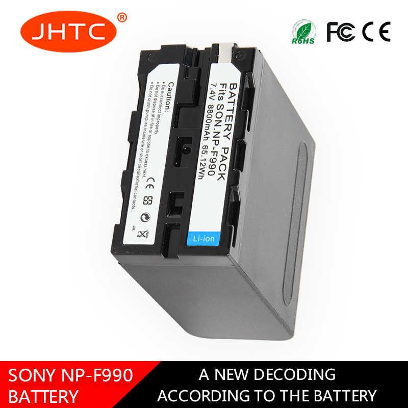 NP-F990 Камера Батарея для sony видеокамера HXR-MC1500C NEX-EA50 DSR-PD198P HVR-Z7C NX3 5 мА/ч. аккумулятор 8800 мАч NP F990