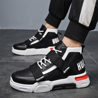 Men Vulcanized Shoes Sneakers Classic Lace up High Style Spring Autumn Platform Casual Shoes Men Outdoor Leisure Footwear YG L