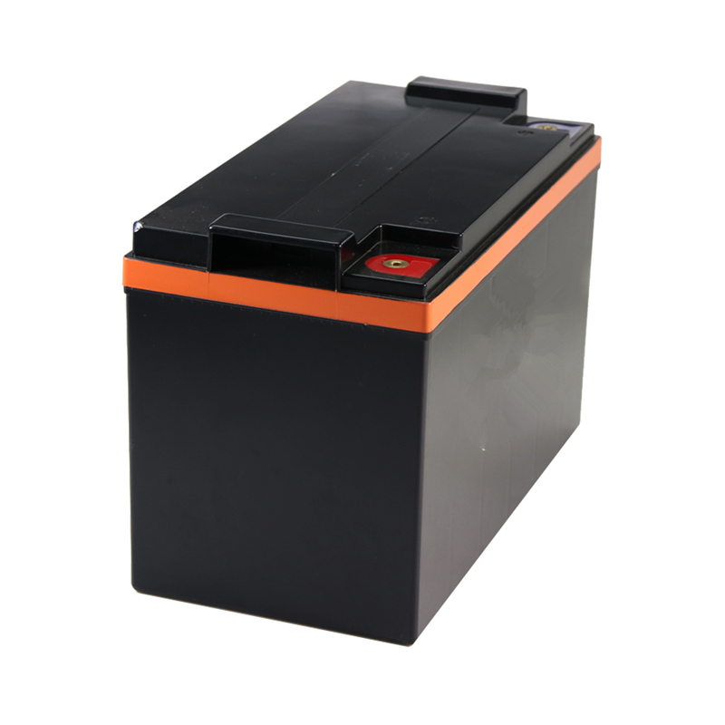 LiFePo4 12V <font><b>100AH</b></font> Free Maintenance Deep Cycle <font><b>Battery</b></font> large CCA 1300A with Lithium 4S-8S BMS for <font><b>Car</b></font> Forklift RV Truck Starter image