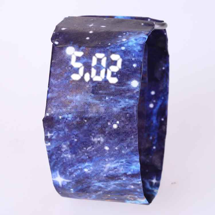 2020 Trendy DIGITAL LED Watch Paper Water/Tear Resistant Watch Perfect Gift 15 20