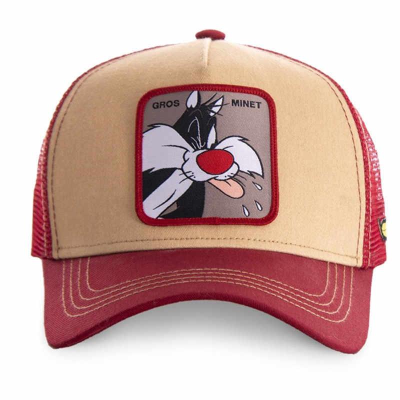 2020 heißer Verkauf Anime Cartoon Trucker Hut Hohe Qualität Patch Zeichnen Entwurf Baseball Kappe 58 Stile Kappe Gorras Casquette Dropshipping
