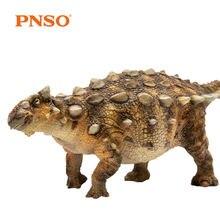 PNSO Ankylosaurus Ankylosaur نموذج الشكل الجوراسي ديناصور الكبار الاطفال جمع العلوم التعليم اللعب هدية ديكور المنزل