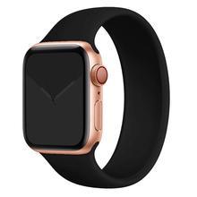 Pasek do zegarka Apple Watch 5 pasek 40mm 44mm iWatch serie 4 5 6 SE elastyczny pas silikonowy Solo bransoletka pętli pasek do Apple watch 42mm 38mm tanie tanio ProBefit CN (pochodzenie) Inne Od zegarków RUBBER Nowy z metkami For apple watch 200001557 200001557