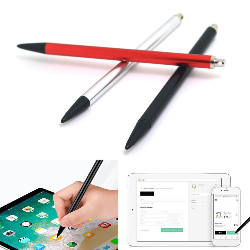 1PC Universal Anti-lost Cable Metal For Iphone Pencil Case Compatible For IPhone IPad Android Tablet Touch Pen Stylus