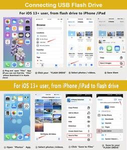 Image 5 - OTG 변환기 번개 USB 3.0 어댑터 아이폰 7 8 6 6s 플러스 11 프로 맥스 X XS XR 키트 변환기 iOS 13 버전
