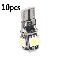 Auto Licht Canbus Lange-anhaltende LED Weiß T10 5-SMD 5050 W5W 194 16 Innen Hohe Helligkeit LED lampen DC12V Automobil Accessori
