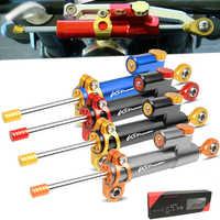 Damper For SUZUKI DL650 V-Strom DL1000 DL 650/XT 1000/XT V Strom VStrom Motorcycles Steering Stabilize Damper Bracket Mount Kit