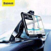 Baseus-Soporte de teléfono para coche, montaje para Iphone X XS Max Samsung S10 Plus